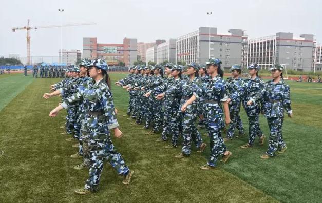 培贤学院新生军训